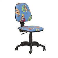Кресло детское Пул Цифры - синий (AMF-ТМ)