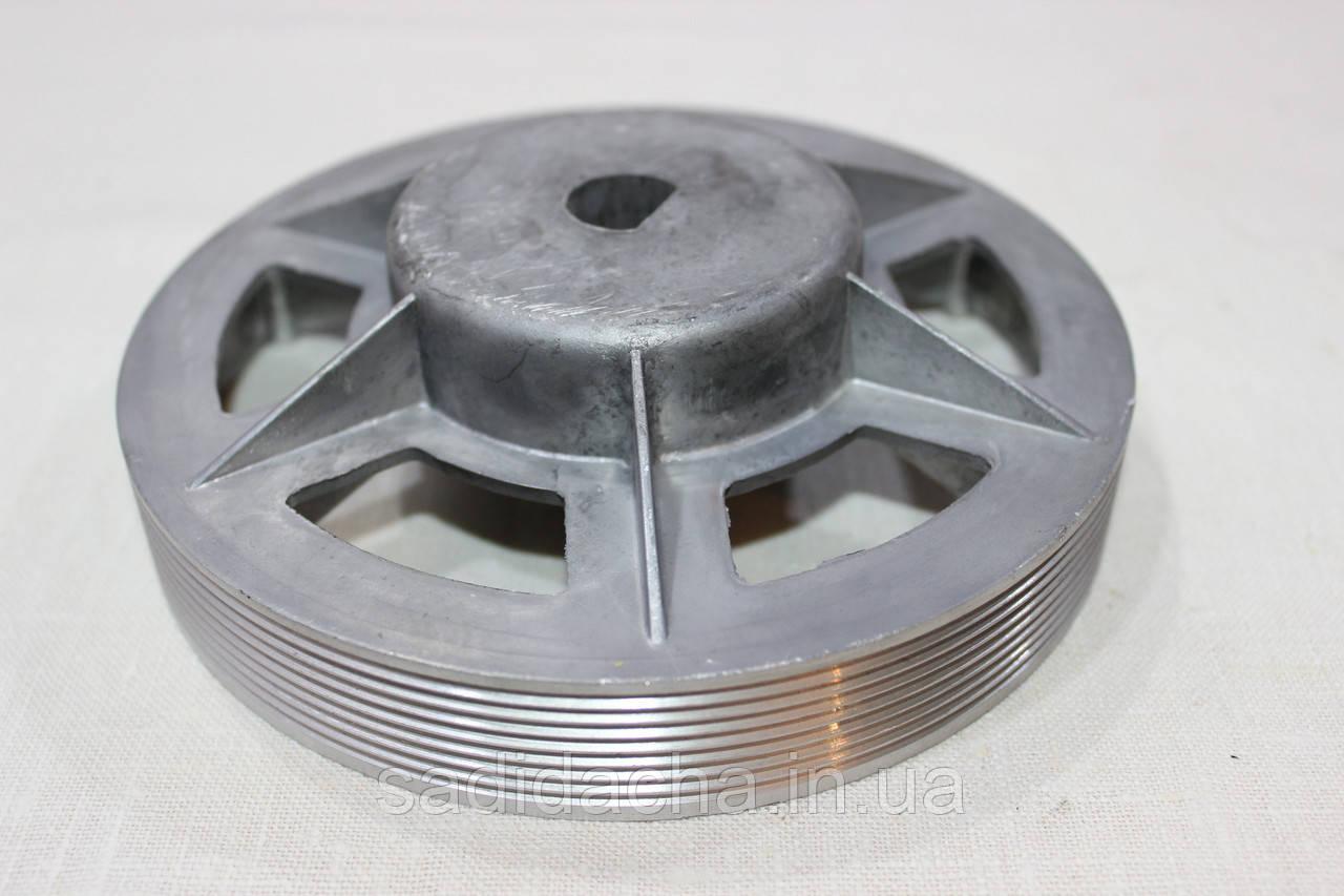 Шкив ременой бетономешалки