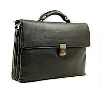 Классический мужской портфель из натуральной кожи