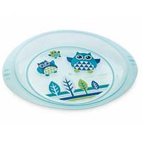 Тарелка пластиковая Совы Canpol