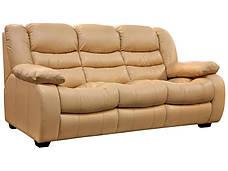 Кожаный диван Ashley, не раскладной диван, мягкий диван, мебель из кожи, диван, фото 2