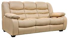 Кожаный диван Ashley, не раскладной диван, мягкий диван, мебель из кожи, диван, фото 3