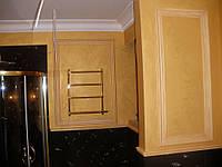 Перламутровая штукатурка в ванной комнате