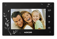 Монитор домофона Kocom KCV-A374 L SD (black)