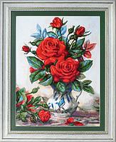 """Набор для вышивания """"Красные розы (Red roses)"""" EXPRESSIONS"""