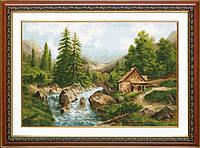 """Набор для вышивания """"Лесной пейзаж (Woodland landscape)"""" EXPRESSIONS"""