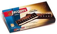 Черный шоколад Jacques Vanille (со вкусом ваниль), 200 г