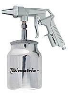 Пистолет пескоструйный с нижним бачком, пневматический MTX 573269