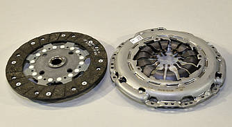 Комплект сцепления на Renault Kangoo II 2008-> 1.5dCi (d=228mm)  — Renault (реставрация) - 302057505R