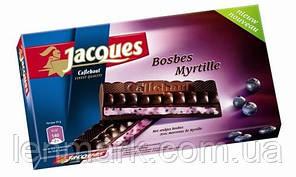 Черный шоколад Jacques Bosbes Myrtille (Лесная Черника) 200 г