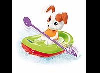 Игрушка для ванной Щенок в лодке