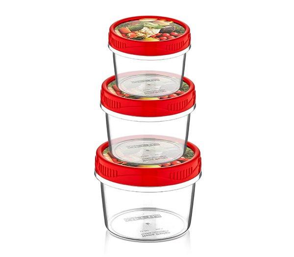 Набор пищевых судков Style box small 3 в 1