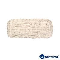 Моп-тряпка 40 см. петельная Merida Econom на зажимах
