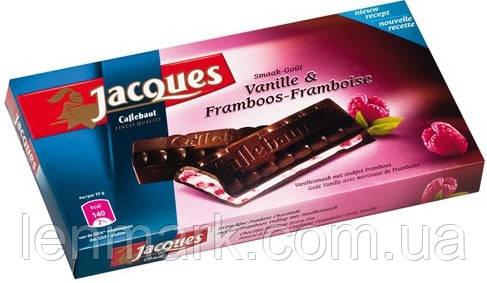 Черный шоколад Jacques Framboos (со вкусом малины), 200 г