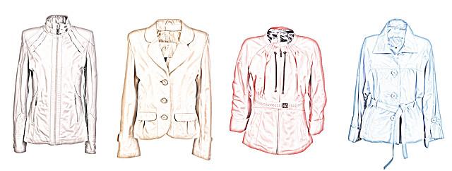 модели кожаных курток для типа фигуры треугольник