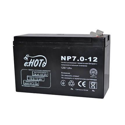 Аккумулятор eNOT 12V / 7Ah для детских электромобилей , фото 2