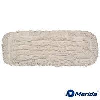 Моп-тряпка 50 см. петельная дезинфекционная Merida Econom на карманы