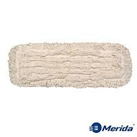 Моп-тряпка 50 см. петельная Merida Econom на зажимах