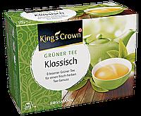 King's Crown Grüner Tee Klassisch - Зеленый чай Классический 70 г, 40 ПАКЕТИКОВ