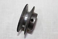 Шкив малый для ременной бетономешалки