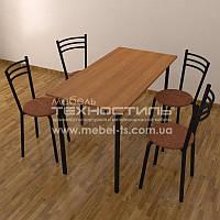 Стол обеденный 1200x600 мм.