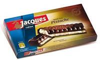Черный шоколад Jacques Pistache (с фисташками), 200 г