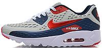 Мужские кроссовки Nike Air Max 90 Ultra BR (в стиле Найк Аир Макс 90) серые