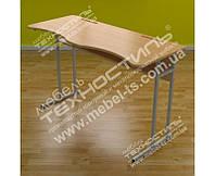 Стол ученический двухместный с регулировкой высоты УСР-20 МДФ