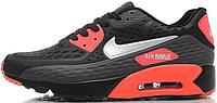 Мужские кроссовки Nike Air Max 90 Ultra BR (в стиле Найк Аир Макс 90) черные