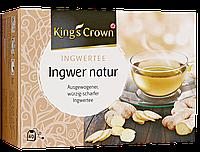 King's Crown Ingwertee Ingwer natur - натуральный имбирный чай, 80 г, 40 ПАКЕТИКОВ
