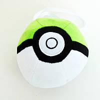 Мяч Pokeball зеленый