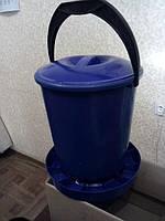 """Кормушка для птицы """"Ведерко"""" емк. 10 литров, фото 1"""