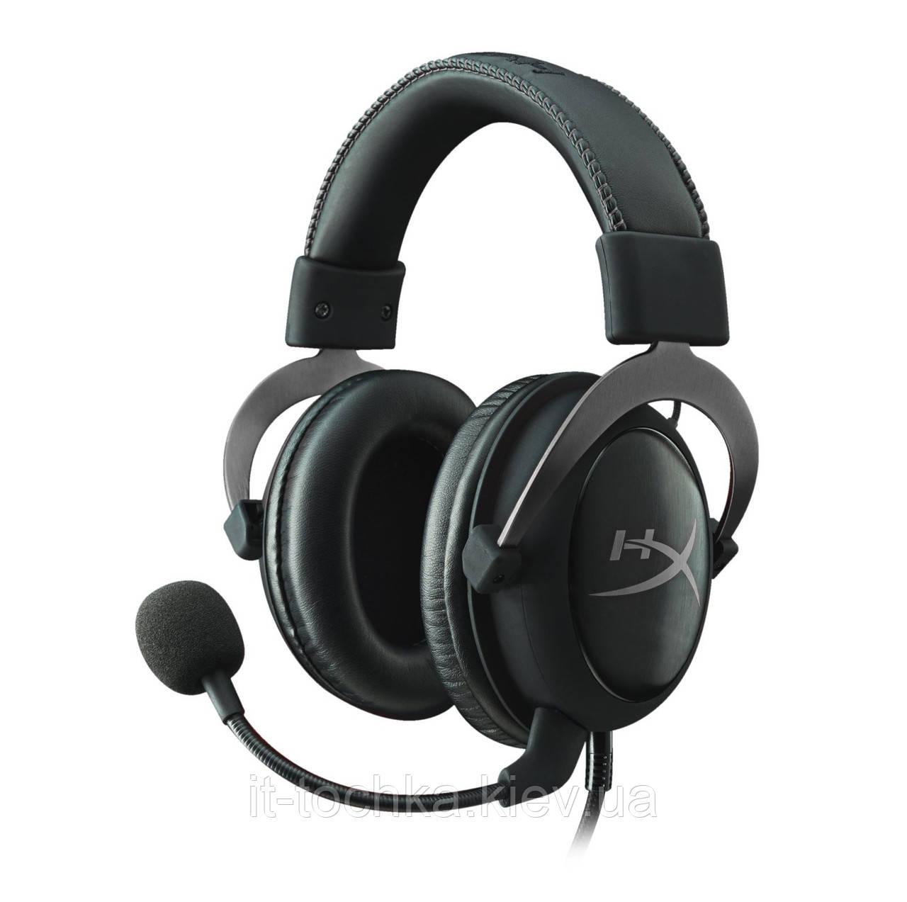 Игровая гарнитура kingston hyperx cloud ii gaming headset gun metal (khx-hscp-gm)