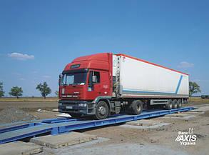 Автомобильные весы на 40 тонн безфундаментные 12м АКСИС 40-12-К-П