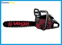 Бензопила Vega VSG-450T (2 шины + 2 цепи) в металлическом корпусе.