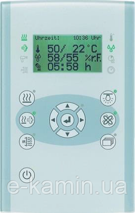 Profilyline 4200-Design для электропечей с увлажнителем в сауну, cо стеклянной панелью управления DESIGN