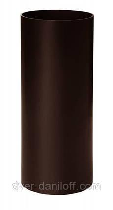 Труба водосточная 3м. 90x3000 Водосточные системы Rainway (Ренвей), фото 2