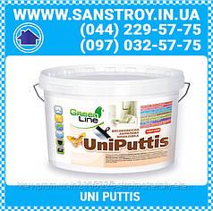 Шпаклевка акриловая высококачественная UNI PUTTIS 16 кг