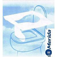 Накладки на крышку унитаза одноразовые бумажные 200 шт. Merida GP12
