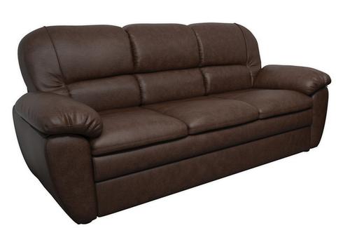 """Прямой раскладной диван в коже """"Сидней"""" (220см)"""
