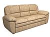 """Прямой раскладной диван в коже """"Сидней"""" (220см), фото 3"""