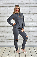 Стильный женский спортивный костюм, большие размеры ( р 42-74 )