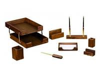 Подарочный набор настольный из дерева BESTAR 8280WDN орех (8 предметов)