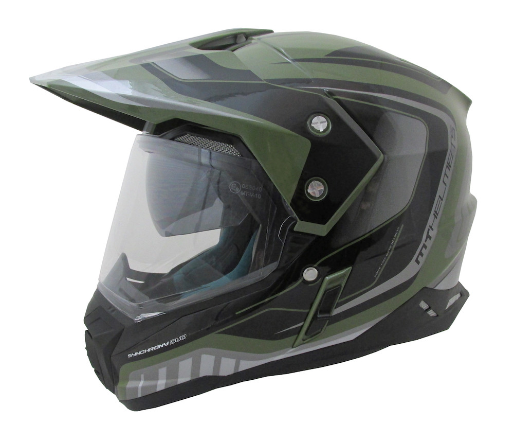 Мотошлем MT Synchrony Duo Sport Military