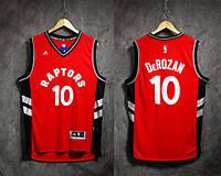 Мужская баскетбольная майка Toronto Raptors (DeMar DeRozan) Black