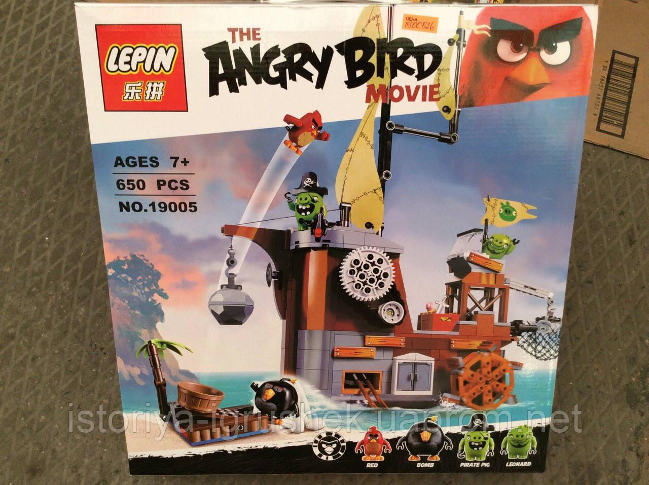 Детский конструктор Lepin Angry Birds 19005