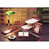 Подарочный набор настольный из дерева BESTAR 6213WDN орех (6 предметов)