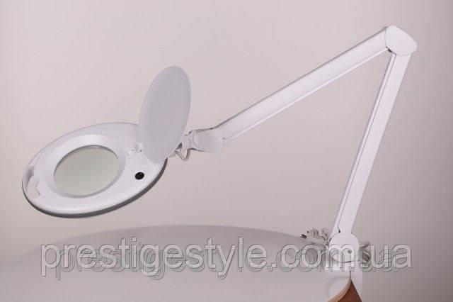 Лампа-лупа LS-6027 LED 5D настольная