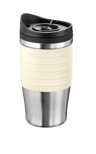 Термокружка KitchenAid 5KCM0402TMAC, кружка-термос для кофеварки 5KCM0402, объём 0.54л, кремовая