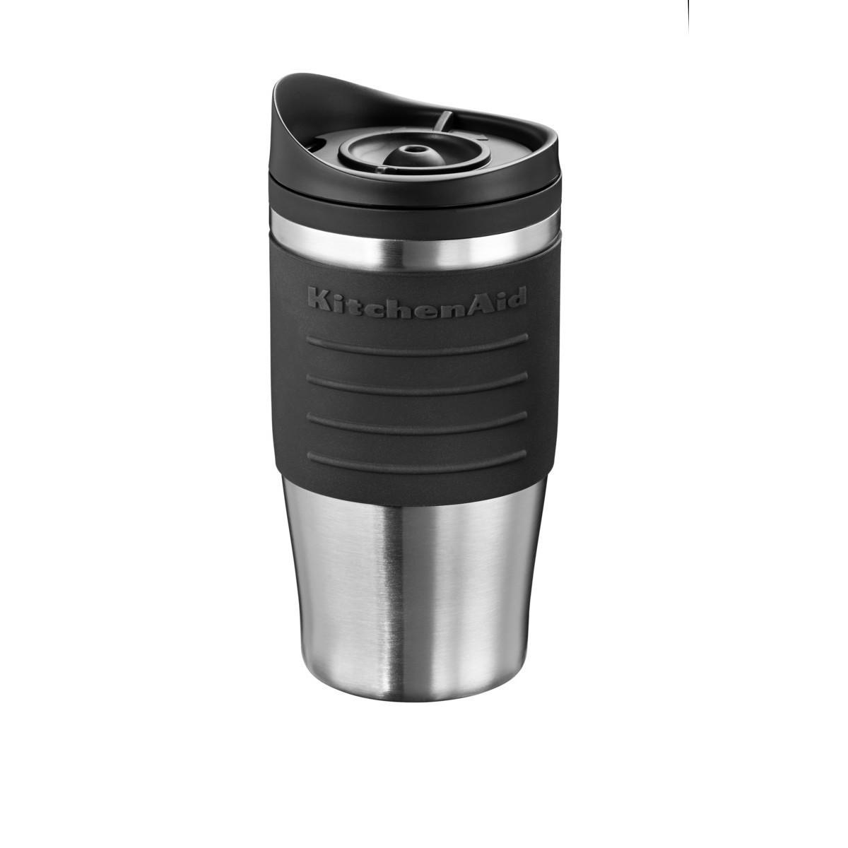 Термокружка KitchenAid 5KCM0402TMOB, кружка-термос для кофеварки 5KCM0402, объём 0.54л, черная